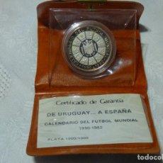 Coleccionismo deportivo: MONEDA CALENDARIO,MUNDIAL DE FUTBOL.. Lote 257585225