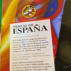 Coleccionismo deportivo: ALBUM COLECCION OFICIAL CONMEMOORATIVA SELECCION ESPAÑOLA DE FUTBOL AÑO 2000. Lote 261243140
