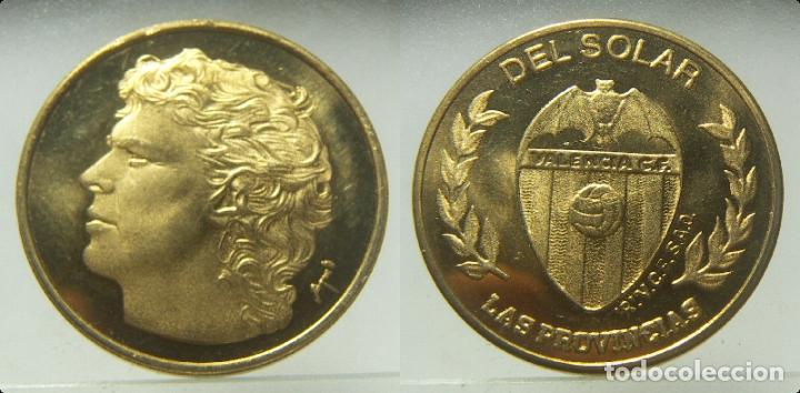 MEDALLA DEL SOLAR VALENCIA CLUB DE FUTBOL, DE LAS PROVINCIAS (Coleccionismo Deportivo - Medallas, Monedas y Trofeos de Fútbol)