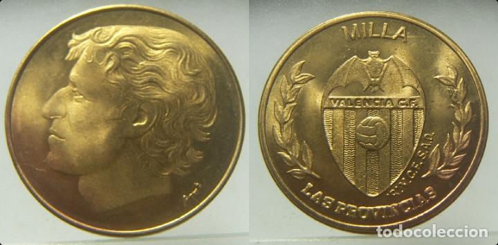 MEDALLA MILLA VALENCIA CLUB DE FUTBOL, DE LAS PROVINCIAS (Coleccionismo Deportivo - Medallas, Monedas y Trofeos de Fútbol)