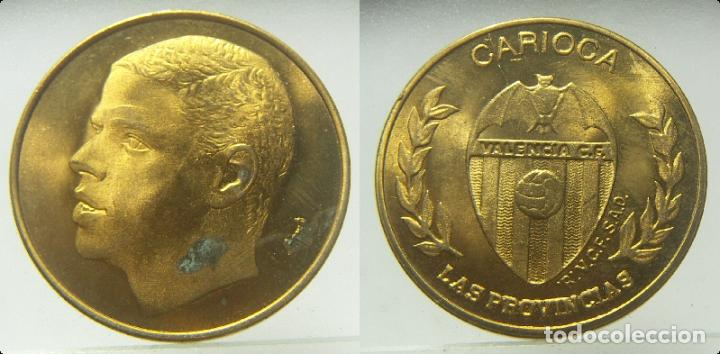 MEDALLA CARIOCA VALENCIA CLUB DE FUTBOL, DE LAS PROVINCIAS (Coleccionismo Deportivo - Medallas, Monedas y Trofeos de Fútbol)