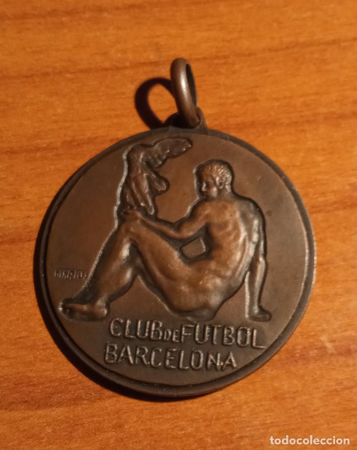 CLUB DE FUTBOL BARCELONA,SECCIONES DEPORTIVAS (Coleccionismo Deportivo - Medallas, Monedas y Trofeos de Fútbol)