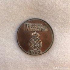 Coleccionismo deportivo: FÚTBOL. REAL MADRID. V TROFEO SANTIAGO BERNABÉU - 1983. Lote 264440564