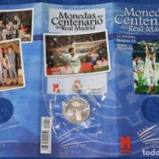 Coleccionismo deportivo: MONEDAS DEL CENTENARIO DE REAL MADRID - MONEDA Nº 12 - LA SÉPTIMA - MARCA. Lote 270677933