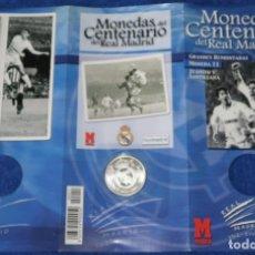 Coleccionismo deportivo: MONEDAS DEL CENTENARIO DE REAL MADRID - MONEDA Nº 11 - GRANDES REMONTADAS - MARCA. Lote 270678023