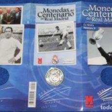 Coleccionismo deportivo: MONEDAS DEL CENTENARIO DE REAL MADRID - MONEDA Nº 9 - LA SEXTA - MARCA. Lote 270678303