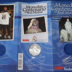 Coleccionismo deportivo: MONEDAS DEL CENTENARIO DE REAL MADRID - MONEDA Nº 6 - LA FUENTE DEL MADRID - MARCA. Lote 270945583