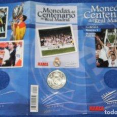 Coleccionismo deportivo: MONEDAS DEL CENTENARIO DE REAL MADRID - MONEDA Nº 3 - LA OCTAVA - MARCA. Lote 270946433