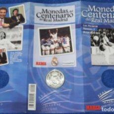 Coleccionismo deportivo: MONEDAS DEL CENTENARIO DE REAL MADRID - MONEDA Nº 2 - LOS PICHICHI - MARCA. Lote 270946568