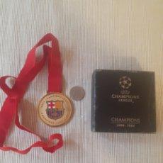 Coleccionismo deportivo: MEDALLA CHAMPIONS LEAGUE 2008 2009 ROMA. Lote 286396983