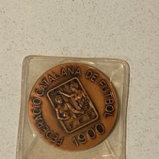Coleccionismo deportivo: MEDALLA FEDERACIÓN CATALANA DE FUTBOL LXXV ANIVERSARIO 1900-1975. Lote 287109958