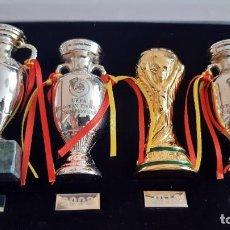 Colecionismo desportivo: LOS TROFEOS DE LA SELECCION ESPAÑOLA DE FUTBOL. Lote 287539088