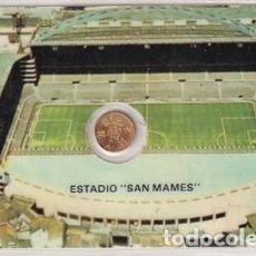 Coleccionismo deportivo: MONEDA OFICIAL CONMEMORATIVA MUNDIAL FÚTBOL ESPAÑA 82 ESTADIO SAN MAMES ATHLETIC BILBAO. Lote 287700498