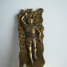 Coleccionismo deportivo: TROFEO DEL HOMENAJE AL JUGADOR DEL SESTAO PRIMI. SESTAO 22/12/1990.. Lote 289833863