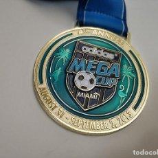 Coleccionismo deportivo: BONITA MEDALLA FUTBOL ADIDAS MEGA CUP MIAMI 2013 SOCCER. Lote 291177563