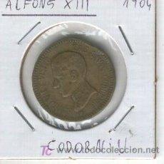 Medallas históricas: MEDALLA ALFONSO XIII. SU MAJESTAD EL REY VISITO LAS CAVAS CODORNIU. AÑO 1904.SANT SADURNI D' ANOIA. Lote 23562189