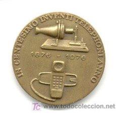 Medallas históricas: MEDALLA CONMEMORATIVA DE TELEFÓNICA, 1976. Lote 25954007