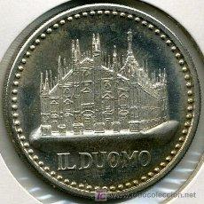 Medallas históricas: JUAN PABLO II - IL DUOMO - MEDALLA PLATA 34 MM . Lote 26971665