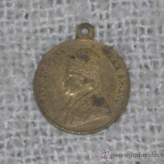 Medallas históricas: IMPRESIONANTE MEDALLA PIO IX. MEDIADOS SIGLO XIX. 3,3 CM DIAMETRO. COBRE.. Lote 26010903
