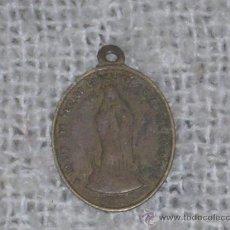Medallas históricas: IMPRESIONANTE MEDALLA STA MARIA -ANVER- Y SAN JOSE -REV- MEDIADOS SIGLO XIX. 3,5 CM DIAMETRO. COBRE.. Lote 17051655
