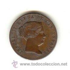 Medallas históricas: BONITA MEDALLA ISABEL II AÑO 1862 VISITA REAL A SEVILLA DIÁMETRO: 22 MM. 17 SEPTIEMBRE. Lote 25140411
