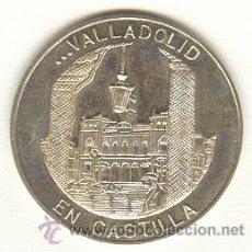 Medallas históricas: VALLADOLID SIN CIRCULAR PRECIOSA MEDALLA DE PLATA 925 MILESIMAS DIÁMETRO 30 MM.. Lote 21222494