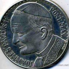 Medallas históricas: JOANNES PAULUS II - PONT. MAX. - ROMA, CITTA DEL VATICANO, PIETA . Lote 14347348