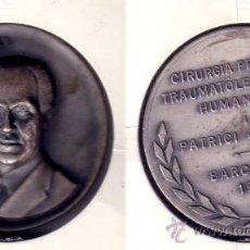Medallas históricas: MEDALLA EN RELIEVE DE JOSEP TRUETA, MÉDICO Y CIRUJANO. CONMEMORATIVA BARCELONA 1975. (MD21).. Lote 24173848