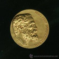 Medallas históricas: MEDALLA DE BRONCE - ANTONI GAUDI. Lote 25962891