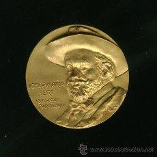 Medallas históricas: MEDALLA DE BRONCE - JOSEP MARIA SERT. Lote 24494389