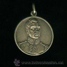 Medallas históricas: MEDALLA DE ALPACA - EVOCACIÓN SANMARTINIANA 1958. Lote 19800236
