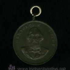 Medallas históricas: MEDALLA DE COBRE - BARTOLOME MITRE. Lote 14846777