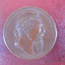 Medallas históricas: GRANADA, MEDALLA DE LA CORONACIÓN DE ZORRILLA EN LA ALHAMBRA. 1.889.. Lote 14866267