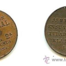 Medallas históricas: DOS MEDALLAS CONMEMORATIVAS DE ISABEL II DE 1858 Y 1862. Lote 17389512