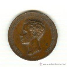 Medallas históricas: 1-1902 ENORME MEDALLA MAYORÍA DE EDAD ALFONSO XIII DIÁMETRO: 60 MM. PESO 91 GRAMOS GRABADOR: B.MAURA. Lote 26809854