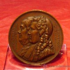 Medallas históricas: MEDALLA FRANCESA DE BRONCE. Lote 21774428