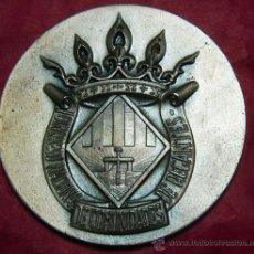Medallas históricas: MEDALLA I CONGR. NAC. DE COM.DE REGANTES 1964 PLATA. Lote 21886410