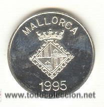 Medallas históricas: PRECIOSA MEDALLA PLATA ARCHIDUQUE LUIS SALVADOR ACUÑADA EN MALLORCA AÑO 1995. MODULO: 21 MM - Foto 2 - 24017925