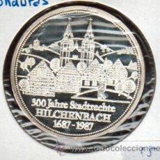 Medallas históricas: PRECIOSA MEDALLA DE PLATA CONMEMORATIVA 300 AÑOS DEL PRIVILEGIO DE LA LIBERTAD VER FOTOS. Lote 27389152