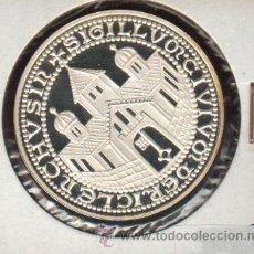 Medallas históricas: PRECIOSA MEDALLA DE PLATA CONMEMORATIVA RHEIN RUHR POSTA '79 RECKLINGHAUSEN. Lote 27326863