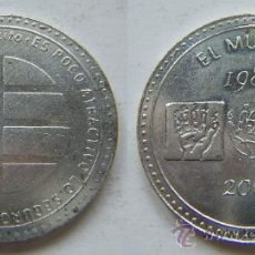 Medallas históricas: MONEDA CONMEMORATIVA DE EL MUNDO 1989-2004 (EDITADA POR EL PERIODICO EL MUNDO. Lote 26330697
