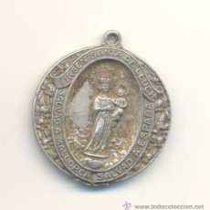 Medallas históricas: VIRGEN SANTA DE LLUCH MALLORCA AÑO MARIANO 1948-1949. Lote 27046419