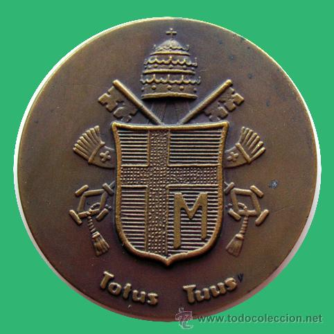 Medallas históricas: MEDALLA RELIGIOSA . JUAN PABLO II . VISITA A CATALUÑA . MONSERRAT - Foto 2 - 27149088