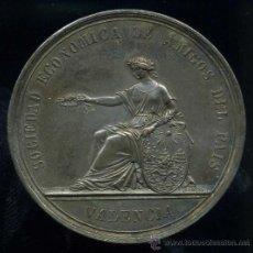 Medallas históricas: EXPOSICION REGIONAL - SOCIEDAD DE AMIGOS DEL PAIS - VALENCIA 1867. Lote 28445270