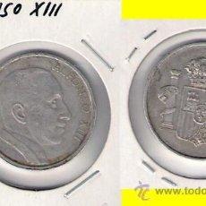 Medallas históricas: MEDALLA DE ALFONSO XIII. ALUMINIO. C284.. Lote 28712766