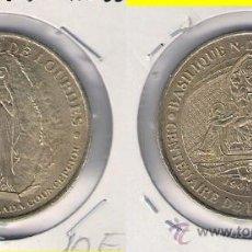 Medallas históricas: MEDALLA DEL CENTENARIO 1901-2001 DE LA CONSAGRACIÓN BASÍLICA DEL ROSARIO NOTRE DAME LOURDES. (C339).. Lote 33216890