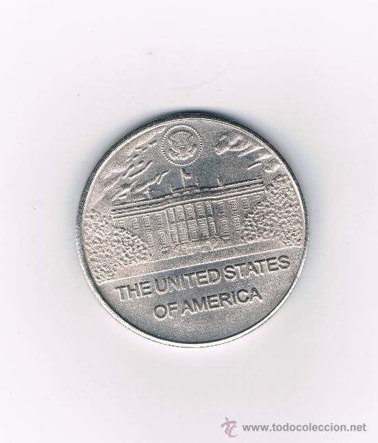 Medallas históricas: 12 MEDALLAS/MONEDA DE LOS PRESIDENTES DE LOS ESTADOS UNIDOS - Foto 2 - 29504127
