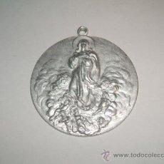 Medallas históricas: AVILA MEDALLA ALUMINIO FINALES SIGLO XIX HIJAS DE MARIA Y SANTA TERES DE JESUS. Lote 30124326