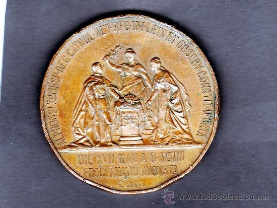 Medallas históricas: REVERSO MEDALLA - Foto 2 - 30927419