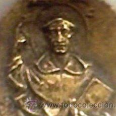 Medallas históricas: MEDALLA ANTIGUA INFANCIA DE SAN VICENTE FERRER ALTAR DEL PILAR DE BRONCE ? PATRON VALENCIA. Lote 31165162